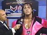 WWF - Saturday Night's Main Event - Bret Hart vs Papa Shango