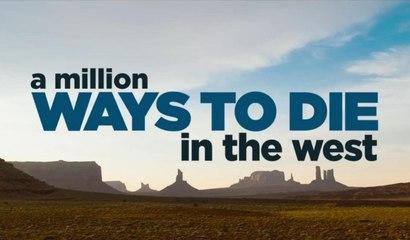 A MILLION WAYS TO DIE IN THE WEST offizieller Trailer#2 deutsch HD