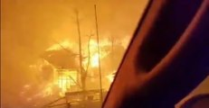 Gatlinburg Wildfire Evacuees Have Close Call as Blaze Closes In