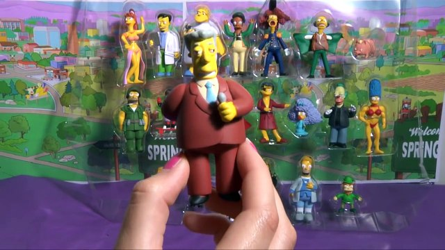 (TOYS) Simpsons 20th anniversary Figurine Collection ★ Simpsons Figurines ★ Simpsons Figurillas