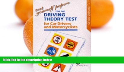 Audiobook Test Yourself Papers for the Theory Test for Car Drivers and Motorcyclists 1997 (Driving