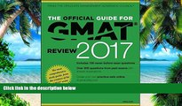 Best Price The Official Guide for GMAT Review 2017 with Online Question Bank and Exclusive Video