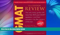 Pre Order The Official Guide for GMAT Review, 12th Edition GMAC (Graduate Management Admission