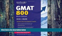 Best Price Kaplan GMAT 800: Advanced Prep for Advanced Students (Kaplan Test Prep) Kaplan On Audio