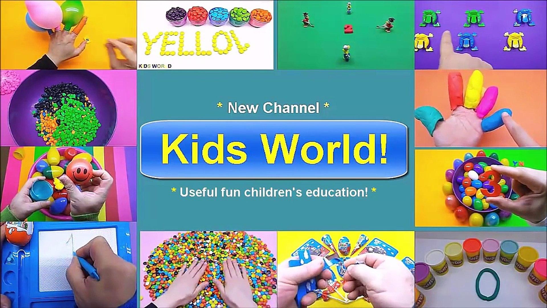 Preschool education for children! Useful fun educational for kids! Kids World!