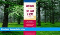 Price Math Review: GRE, GMAT, MCAT 2nd ed (Peterson s GRE/GMAT Math Review) Peterson s On Audio