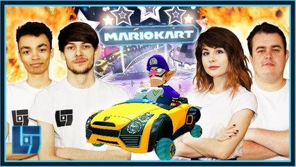 Daz Black & Leah LC vs Waglington & Black Panthaa - Mario Kart: 2v2 | Legends of Gaming