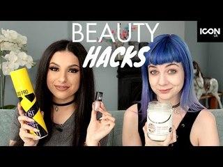 Beauty + Makeup Hacks Everyone Should Know Swap | Leyla Rose & Zoe London