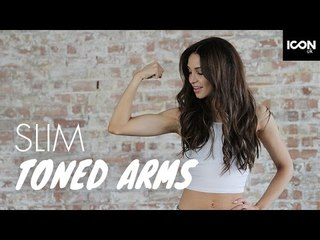 How to get slim toned arms | Danielle Peazer