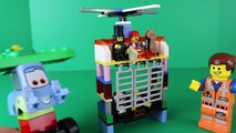 Lego Double Decker Couch Made by Lego Emmet and Two Story Couch Modified by Disney Cars Guido