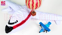 Learning Air Transport Vehicles Names and Sounds for Children