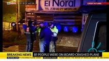 Colombia Plane Crash With Brazilian Soccer Team Chapecoense (VIDEO)