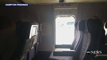 United Passenger Jumps Out Exit Onto Tarmac
