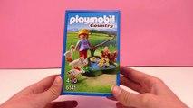 Playmobil Country Français |Mare aux canards avec des canards et des oies | Animaux | Parc animalier