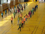 Concours FLASHMOB UNSS Championnat du monde de  HANDBALL 2017 AS Handball Collège Césaria Evora Montreuil