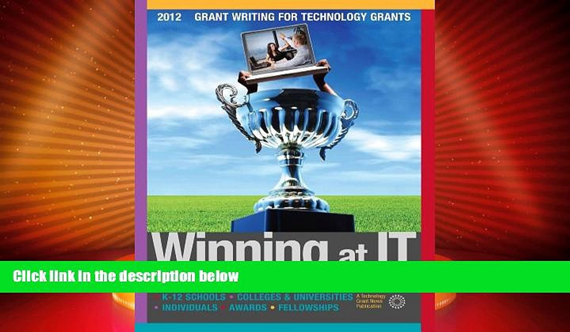Best Price Winning at IT: [2016] Technology Grants For Non-Profits - K-12 Schools - Grant Writing