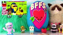 KIDROBOT BFFS | Complete BFFS Collection | Play-Doh Surprise Egg | Fizzy One Year A