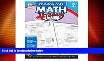 Price Carson Dellosa Common Core 4 Today Workbook, Math, Grade 2, 96 Pages (CDP104591) Erin