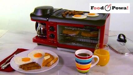 L'appareil 3-en-1 pour préparer le petit-déjeuner !