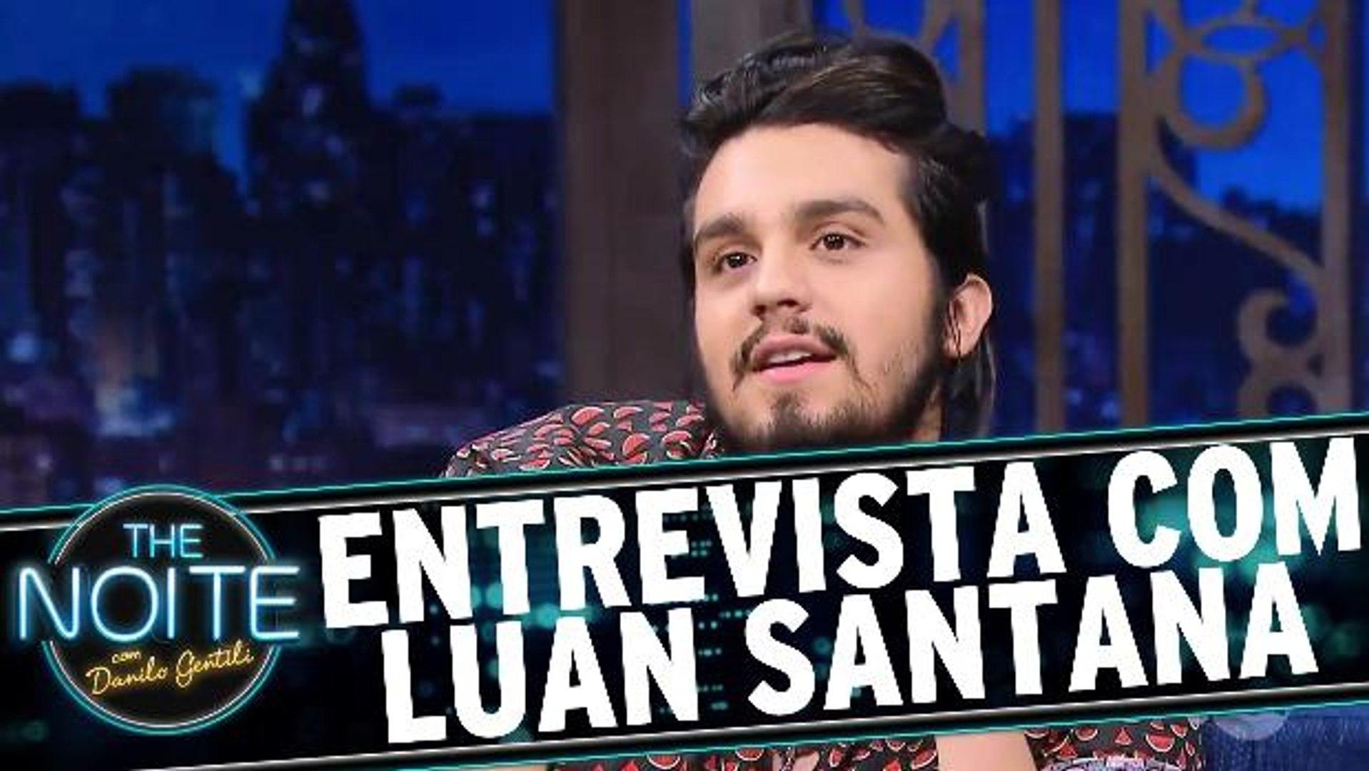Entrevista com Luan Santana