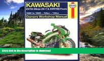 FAVORITE BOOK  Haynes Kawasaki, ZX750 Ninjas ZX7 and ZXR 750 1989-1995 (Haynes Manuals) FULL