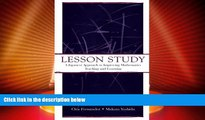 Price Lesson Study: A Japanese Approach To Improving Mathematics Teaching and Learning (Studies in