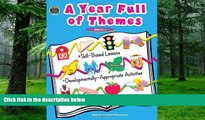 Pre Order A Year Full of Themes Early Childhood Skill based lessons Developmentally appropriate