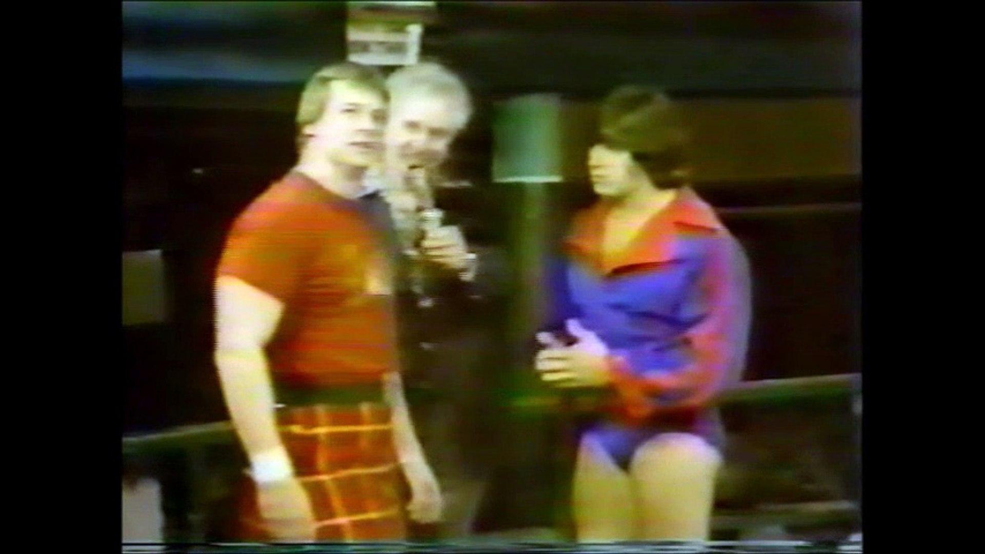Roddy Piper and Rick Martel Promo (Portland 1980)