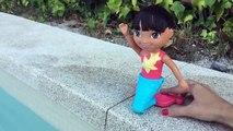 Mermaid Dora The Explorer Dive & Swim part4