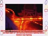 CBConcept® 120VLR50FT-O Orange 50 Feet 110V-120V 2-Wire 1/2 LED Rope Light 1.0 LED Spacing