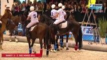 SALON DU CHEVAL  horse ball samedi MATCH 1