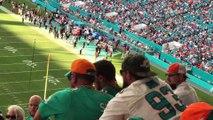 Grosse Bagarre entre supporters de football américain lors d'un match