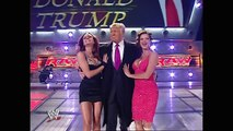 Mr. McMahon and Donald Trump's Battle of the Billionaires Contract Signing - YouTube