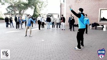 Notre opération étudiHand sur le campus de l'ESC Pau