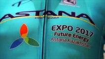 Cyclisme - La tenue et le vélo de la Team Astana pour 2017