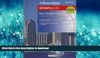 FAVORIT BOOK The Thomas Guide San Diego County Streetguide (Thomas Guide San Diego County, Ca
