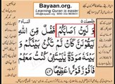Quran in urdu Surah AL Nissa 004 Ayat 073 Learn Quran translation in Urdu Easy Quran Learning