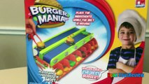 BURGER MANIA BOARD GAME Family Fun Burger Maker electronic toys for kids Egg surprise Disney Toy