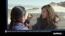 Rendez-vous en terre inconnue : Mélanie Doutey en larmes en quittant sa famille d'accueil (Vidéo)