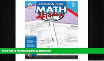 READ THE NEW BOOK Carson Dellosa Common Core 4 Today Workbook, Math, Grade 2, 96 Pages (CDP104591)