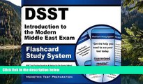 Buy DSST Exam Secrets Test Prep Team DSST Introduction to the Modern Middle East Exam Flashcard