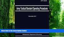PDF Department of the Army Army Tactical Standard Operating Procedures (ATP 3-90.90) Pre Order
