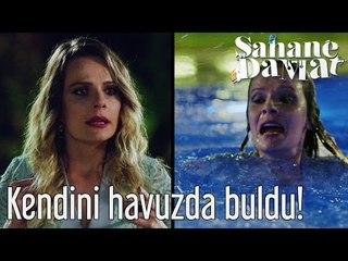 Şahane Damat - İlknur Kendini Havuzda Buldu!