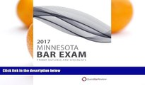 Pre Order 2017 Minnesota Bar Exam Primer Outlines and Checklists Quest Bar Review On CD