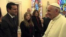 Vatican: Rencontre entre le pape et Martin Scorsese