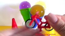 GIANT ORBEEZ !!! Ice Cream Cone Surprise for Kids Water Balz Jumbo by Ema&Eric Surprise Giant