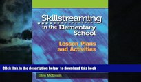 Audiobook Skillstreaming in the Elementary School: Lesson Plans and Activities Ellen McGinnis PDF