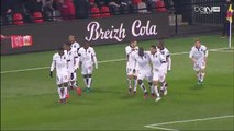 Younes Belhanda Goal HD - Guingamp 0-1 Nice  - 30.11.2016