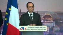 Discours à la communauté française en République Tchèque