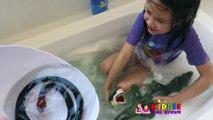SNAKE IN BATHTUB! Giant Snake vs Plunger Girl, Toy Freaks Ely Out, Bad Baby Kills Snake in Bathroom